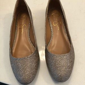 Jessica Simpson Gold Ginly Shoes